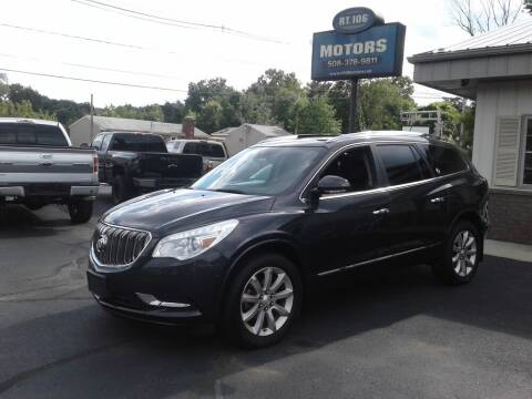 2015 Buick Enclave for sale at Route 106 Motors in East Bridgewater MA