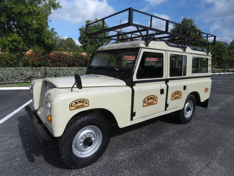 1981 Land Rover Defender for sale at American Classics Autotrader LLC in Pompano Beach FL