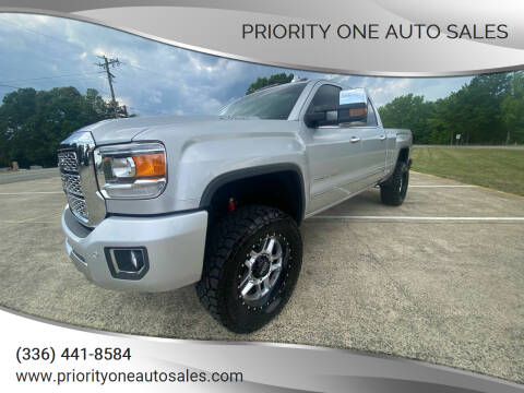 2019 GMC Sierra 2500HD for sale at Priority One Auto Sales in Stokesdale NC
