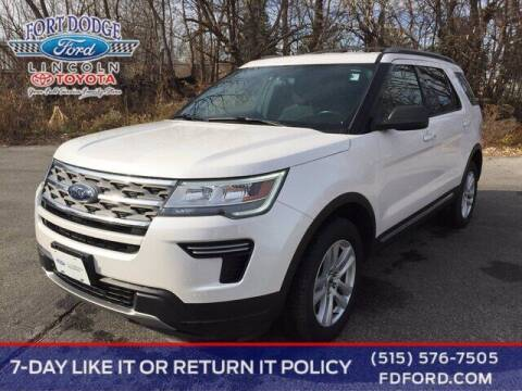 2018 Ford Explorer for sale at Fort Dodge Ford Lincoln Toyota in Fort Dodge IA