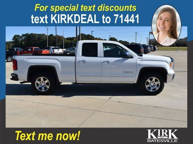 2015 GMC Sierra 1500 for sale at Kirk Brothers Batesville in Batesville MS