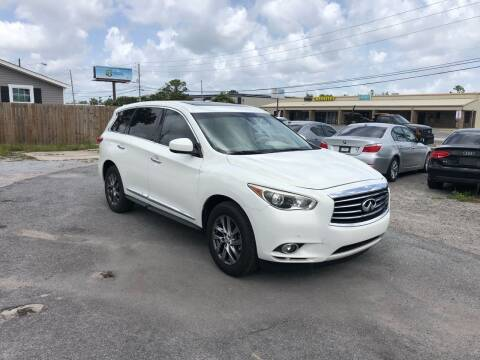 2013 Infiniti JX35 for sale at Lucky Motors in Panama City FL