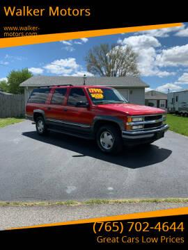1999 Chevrolet Suburban for sale at Walker Motors in Muncie IN