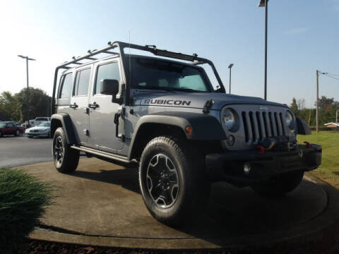 2015 Jeep Wrangler Unlimited for sale at TAPP MOTORS INC in Owensboro KY