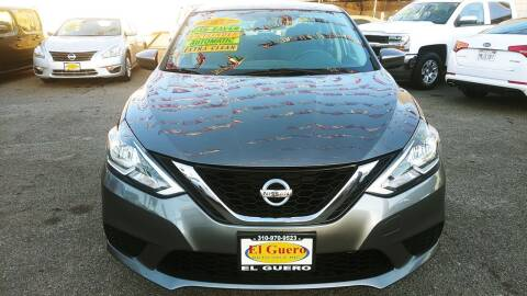 2017 Nissan Sentra for sale at El Guero Auto Sale in Hawthorne CA