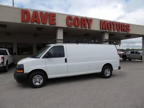 2019 Chevrolet Express Cargo for sale at DAVE CORY MOTORS in Houston TX