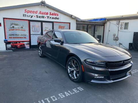 2015 Dodge Charger for sale at Speed Auto Sales in El Cajon CA