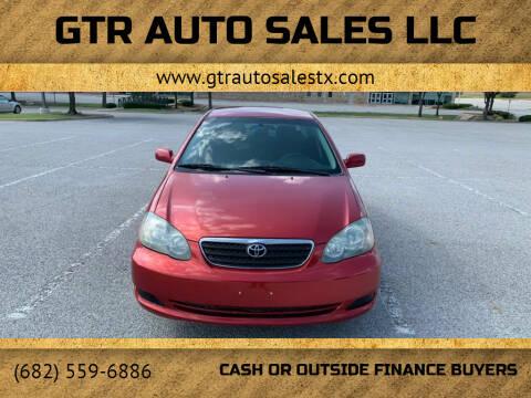 2005 Toyota Corolla for sale at GTR Auto Sales LLC in Haltom City TX