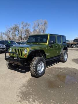 2010 Jeep Wrangler Unlimited for sale at HORSEPOWER AUTO BROKERS in Fort Collins CO