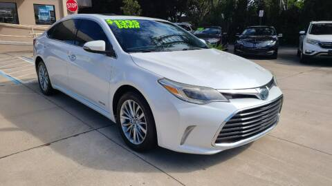 2016 Toyota Avalon Hybrid for sale at Dunn-Rite Auto Group in Longwood FL