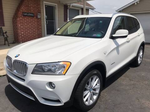 2013 BMW X3 for sale at Cooks Motors in Westampton NJ