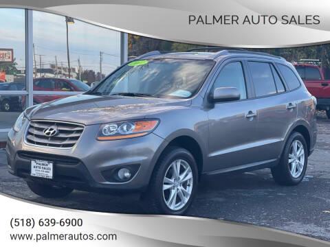 2011 Hyundai Santa Fe for sale at Palmer Auto Sales in Menands NY
