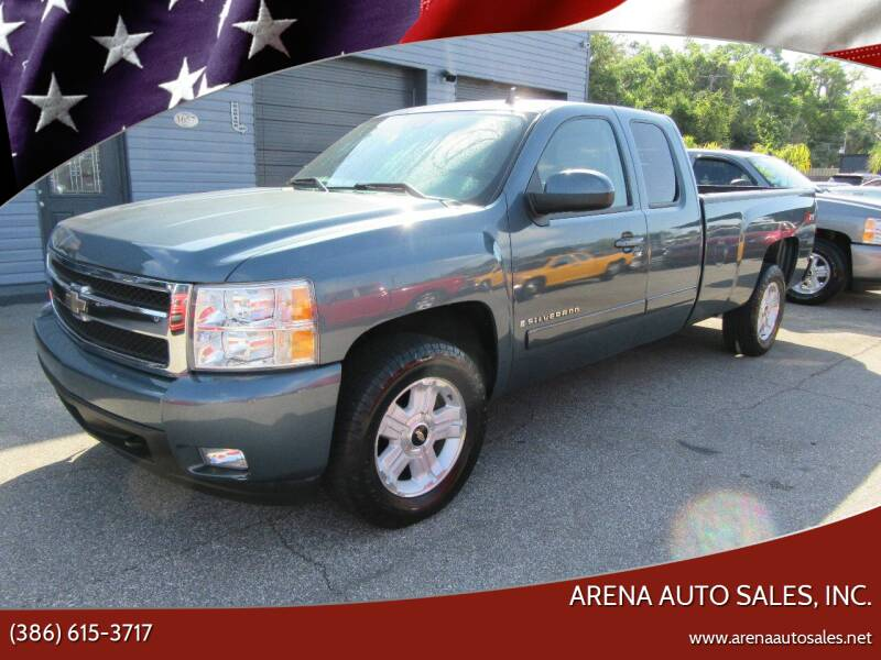 2007 Chevrolet Silverado 1500 for sale at ARENA AUTO SALES,  INC. in Holly Hill FL