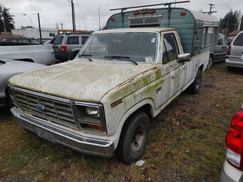 1984 Ford F-150 for sale at JMG MOTORS in Lynden WA