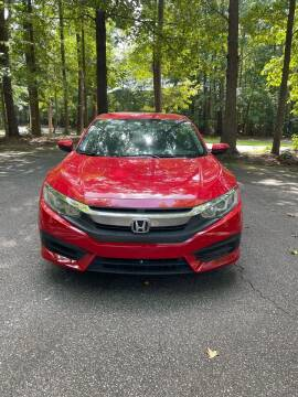 2017 Honda Civic for sale at Amana Auto Care Center in Raleigh NC