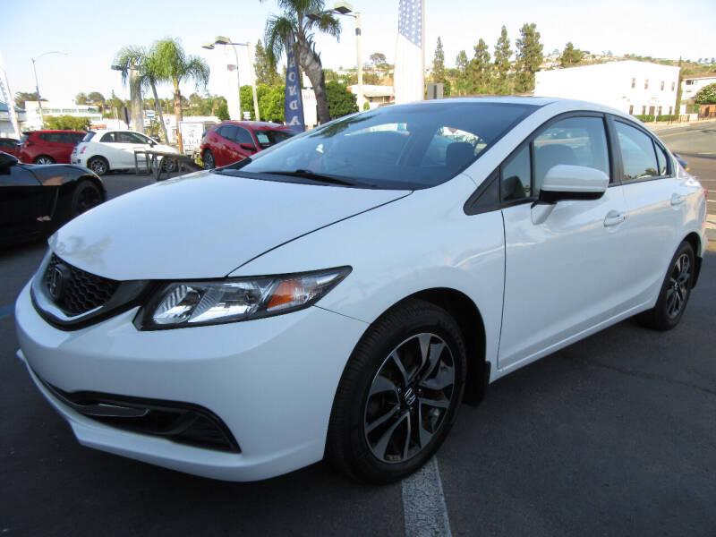 2015 Honda Civic for sale at Eagle Auto in La Mesa CA