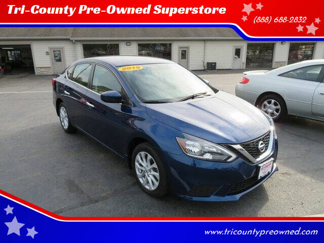 2019 Nissan Sentra for sale at Tri-County Pre-Owned Superstore in Reynoldsburg OH