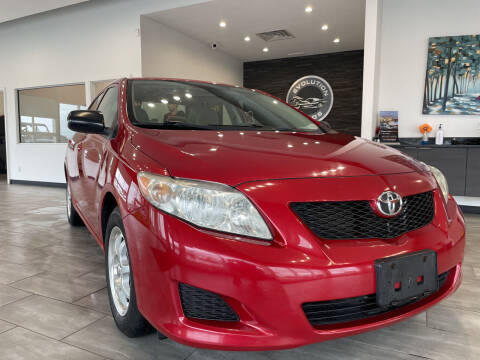 2010 Toyota Corolla for sale at Evolution Autos in Whiteland IN