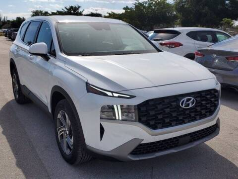2021 Hyundai Santa Fe for sale at DORAL HYUNDAI in Doral FL