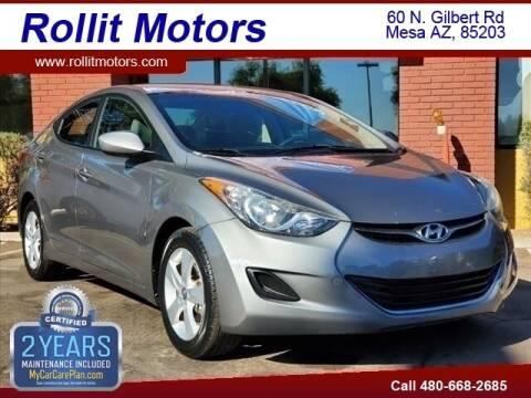 2013 Hyundai Elantra for sale at Rollit Motors in Mesa AZ