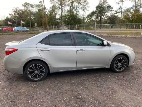 2015 Toyota Corolla for sale at MISSION AUTOMOTIVE ENTERPRISES in Plant City FL