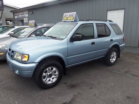 2004 Isuzu Rodeo for sale at Fulmer Auto Cycle Sales - Fulmer Auto Sales in Easton PA