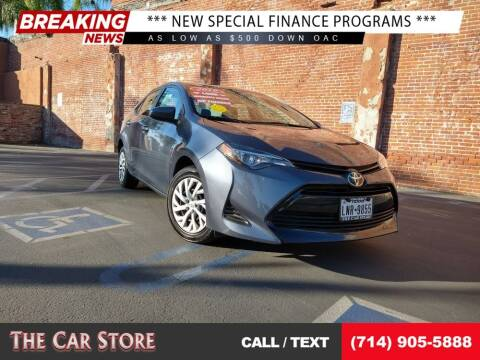 2019 Toyota Corolla for sale at The Car Store in Santa Ana CA