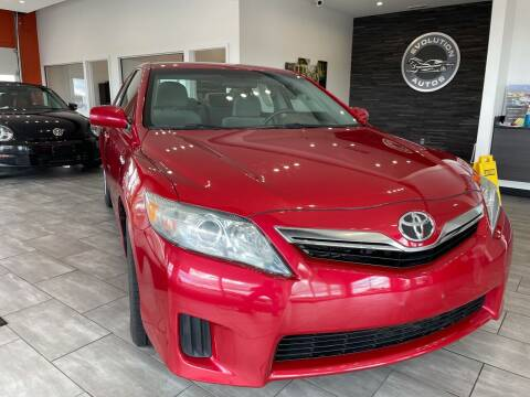 2010 Toyota Camry Hybrid for sale at Evolution Autos in Whiteland IN