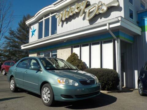 2006 Toyota Corolla for sale at Nicky D's in Easthampton MA