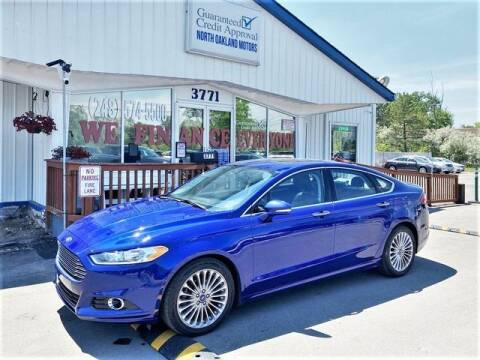 2016 Ford Fusion for sale at North Oakland Motors in Waterford MI