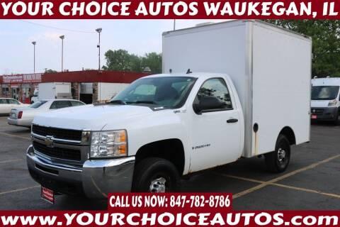 2008 Chevrolet Silverado 2500HD for sale at Your Choice Autos - Waukegan in Waukegan IL
