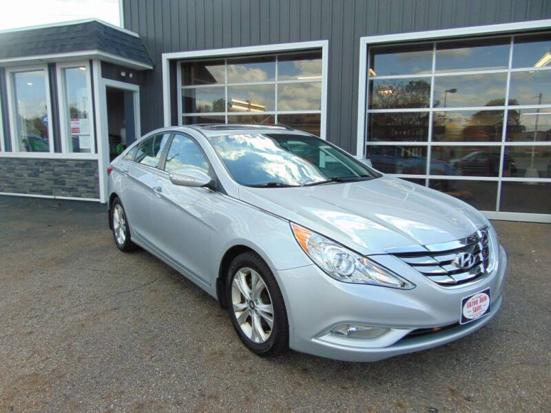 2013 Hyundai Sonata for sale at Akron Auto Sales in Akron OH