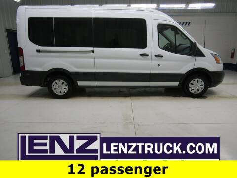 2019 Ford Transit Passenger for sale at LENZ TRUCK CENTER in Fond Du Lac WI