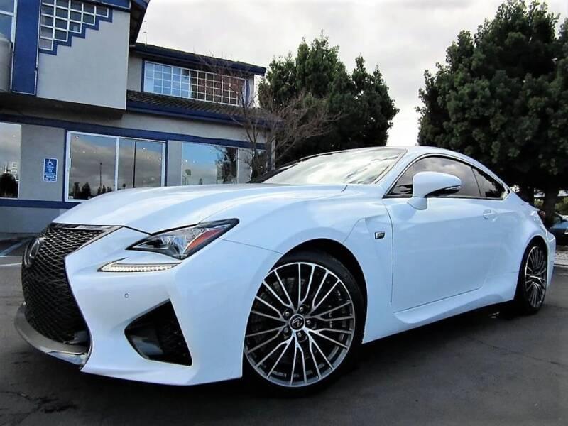 2015 Lexus RC F for sale at Top Tier Motorcars in San Jose CA