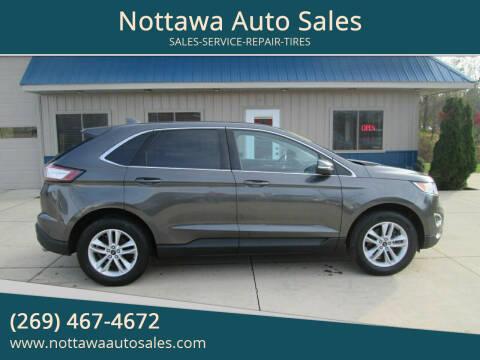 2015 Ford Edge for sale at Nottawa Auto Sales in Nottawa MI