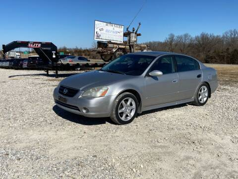 2003 Nissan Altima for sale at Ken's Auto Sales & Repairs in New Bloomfield MO