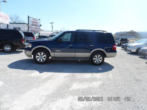 2007 Ford Expedition for sale at Town and Country Motors in Warsaw MO
