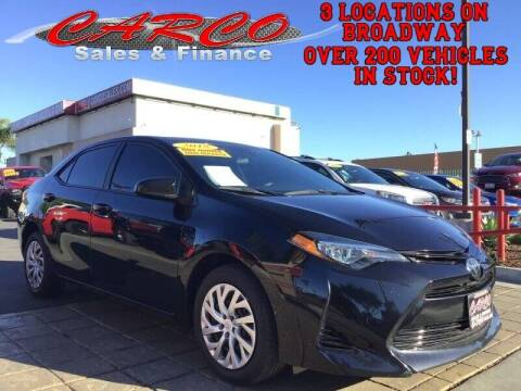 2018 Toyota Corolla for sale at CARCO SALES & FINANCE #3 in Chula Vista CA