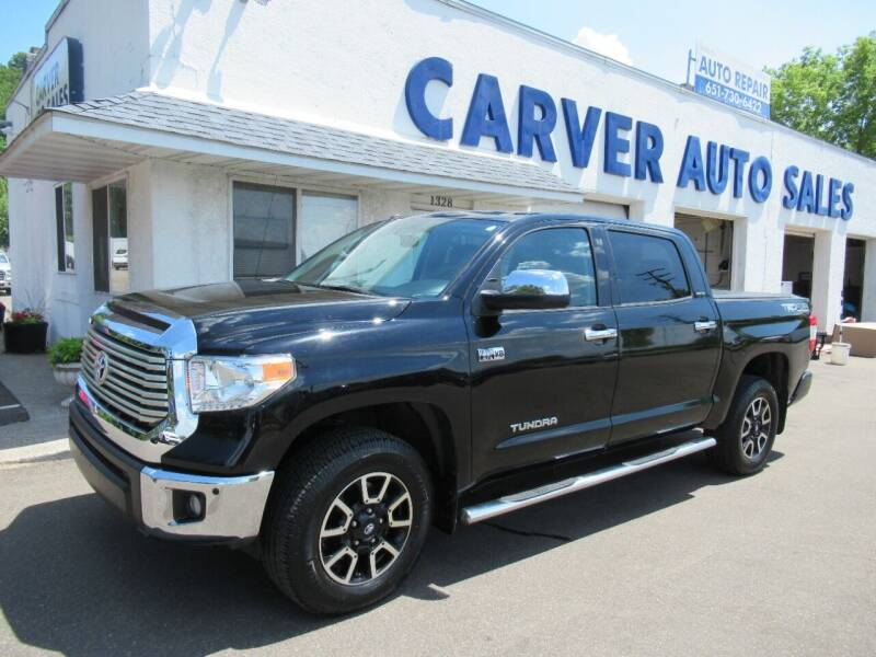 2016 Toyota Tundra for sale at Carver Auto Sales in Saint Paul MN