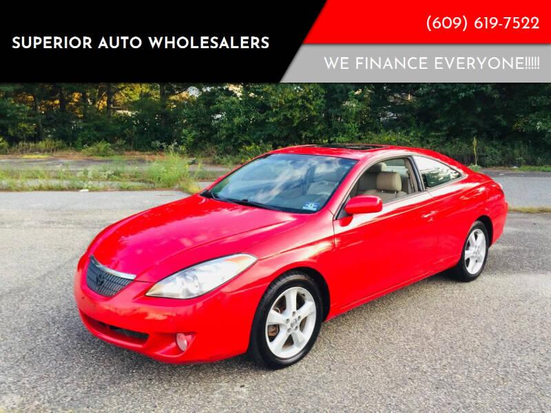 2004 Toyota Camry Solara for sale at Superior Auto Wholesalers in Burlington City NJ