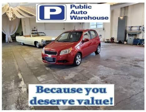 2011 Chevrolet Aveo for sale at Public Auto Warehouse in Pekin IL