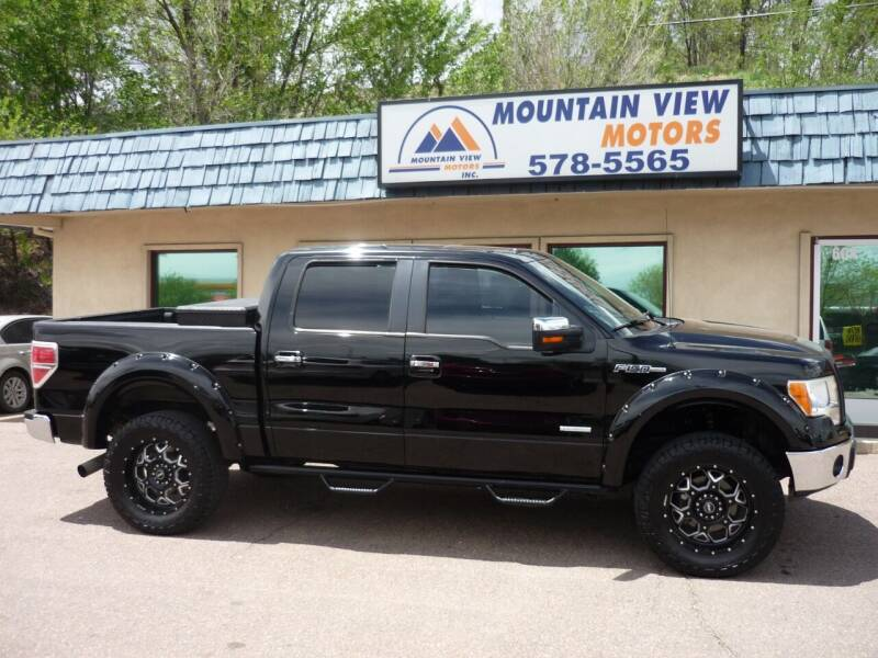 2011 Ford F-150 for sale at Mountain View Motors Inc in Colorado Springs CO