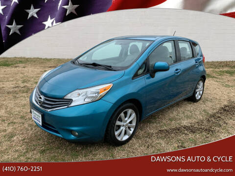 2014 Nissan Versa Note for sale at Dawsons Auto & Cycle in Glen Burnie MD
