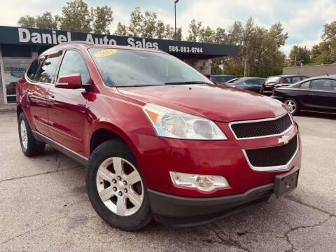 2012 Chevrolet Traverse for sale at Daniel Auto Sales inc in Clinton Township MI