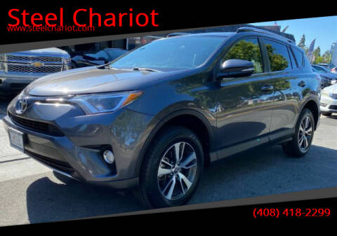 2016 Toyota RAV4 for sale at Steel Chariot in San Jose CA