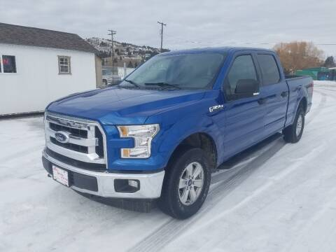 2017 Ford F-150 for sale at AUTO BROKER CENTER in Lolo MT