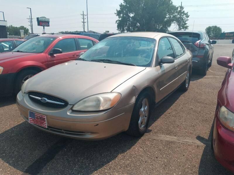 2001 Ford Taurus for sale at L & J Motors in Mandan ND