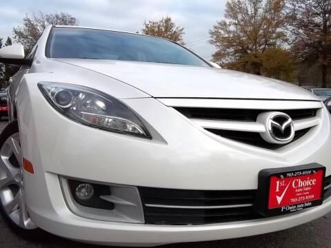 2013 Mazda MAZDA6 for sale at 1st Choice Auto Sales in Fairfax VA