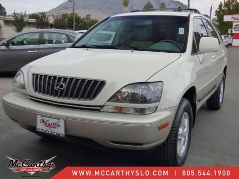 2000 Lexus RX 300 for sale at McCarthy Wholesale in San Luis Obispo CA