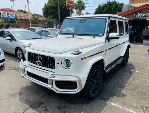 2021 Mercedes-Benz G-Class for sale at Orion Motors in Los Angeles CA